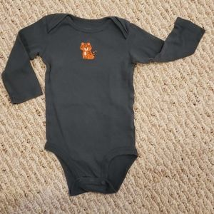 Carter's 9 month tiger long-sleeved onesie